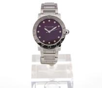 Bvlgari 33 Gemstone Purple Dial BBL33C7SS/12