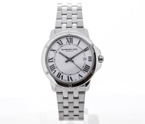 Tango Stainless Steel White Dial Guilloche 5591-ST-00300