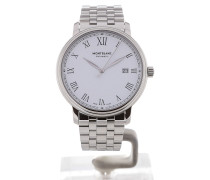Tradition 40 Date White Dial 112610