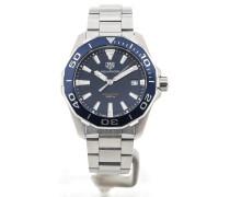 Aquaracer 41 Quartz Blue Dial WAY111C.BA0928