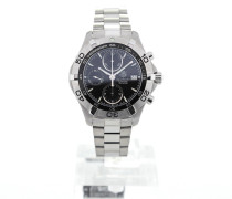 Aquaracer Automatic Chronograph 41 Black Dial Stainless Steel CAF2110.BA0809