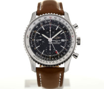 Navitimer World 46 Leather Chronograph A2432212/B726/439X