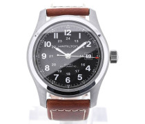 Khaki Field 42 Black Dial H70555533