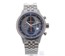 Freelancer Automatic Chronograph 45 Titanium Orange Details 7745-TI-05609