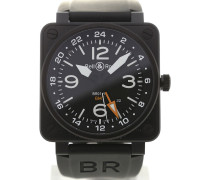 Aviation 46 GMT Black Dial BR0193-GMT