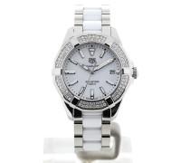 Aquaracer 35 Gemstone White Ceramic WAY131F.BA0914