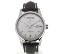 Transocean 43 White Dial Day Date A4531012/G751/435X