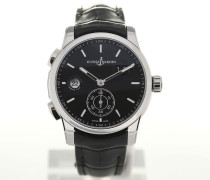 Dual Time 42 Leather 3343-126/92