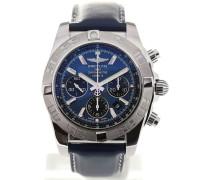Chronomat 44 Blue Dial Chronograph AB011011/C789/131S