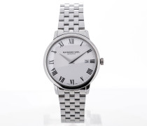 Toccata 39 Stainless Steel White Dial 5488-ST-00300