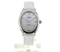 First Lady Steel MoP Silver-toned White Strap 610164N20.BAS412