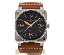 Aviation 42 Automatic Date BR0392-ST-G-HE/SCA