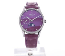 Elite 33 Automatic Moon Phase Purple Leather 16.2310.692/92.C750
