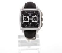 Monaco 41 Chronograph Black Dial CAL2113.FC6536