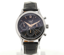 Heritage Chronograph 41 Leather L2.750.4.56.0