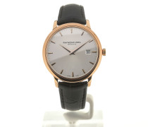 Toccata 39 Quartz Silver Dial Black Leather 5488-PC5-65001