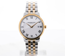 Toccata 39 Stainless Steel Yellow Gold White Dial 5488-STP-00300