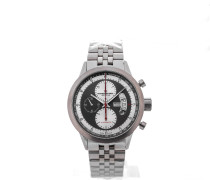 Freelancer Automatic Chronograph 45 Titanium Red Details 7745-TI-05659