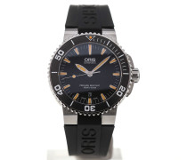 Aquis 43 Automatic Black Dial 01 733 7653 4159