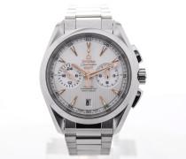 Seamaster Aqua Terra Co-Axial GMT Chronograph 43 Silver 231.10.43.52.02.001