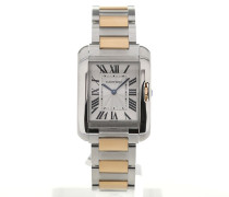Tank Anglaise Rose Gold Ladies Quartz W5310043