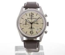 Aviation 41 Automatic Beige Dial BRV126-BEI-ST/SCA