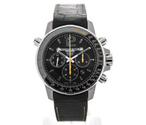 Nabucco Automatic Chronograph 46 Black Dial Yellow Details 7850-TIR-05207