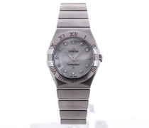 Constellation Quartz 27 White MoP Diamond Dial 123.10.27.60.55.001