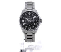 Khaki Aviation Pilot 42 Black Dial H64611135