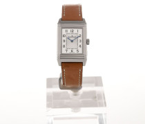 Reverso 33 Silver Dial Brown Leather Strap 2608531
