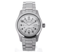 Khaki Field 38 Automatic Silver Dial H70455153