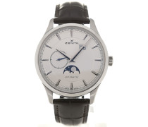 Elite 40 Moonphase Silver Dial 03.2143.691/01.C498