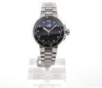 Aquis 36 Gemstone Black Dial 01 733 7652 4194 MB