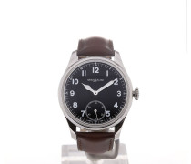 1858 44 Black Dial Small Second 112638