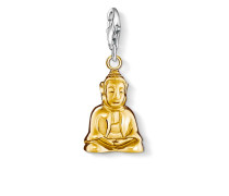 Damen Charm Buddha, Sterlingsilber,