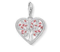 """Damen Charm-Anhänger """"Herz Tree of Love"""", Sterlingsilber, Glam & Soul"""