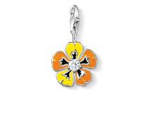 Damen Charm Blume, Sterlingsilber,