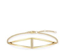Damen Armband, Sterlingsilber Gelbgold vergoldet, Glam & Soul