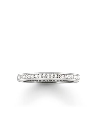 Damen Eternity Ring, Sterlingsilber, Glam & Soul