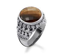 Unisex Ring, Sterlingsilber, Rebel at heart