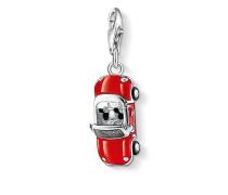"Damen Charm-Anhänger ""Rotes Cabrio"", Sterlingsilber,"