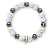 Damen Charm-Armband, Sterlingsilber,