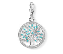 "Damen Charm-Anhänger ""Tree of Love"", Sterlingsilber,"