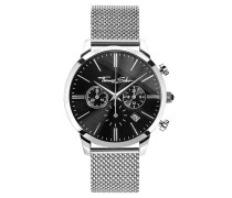 "Herren Herrenuhr ""REBEL SPIRIT CHRONO"" , Edelstahl, Rebel at heart"