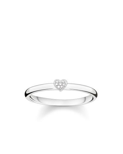 """Ring """"Herz"""", Sterlingsilber, Glam & Soul"""