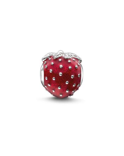 Bead Erdbeere, Sterlingsilber, Karma Beads
