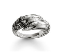 Herren Ring, Sterlingsilber, Rebel at heart