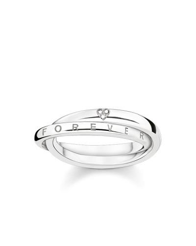 """Ring """"Together Forever Herz"""", Sterlingsilber, Glam & Soul"""