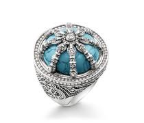 Ring, Sterlingsilber, Karma Beads