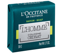 L'HOMME COLOGNE CEDRAT SEIFE - 50 g | ohne farbe